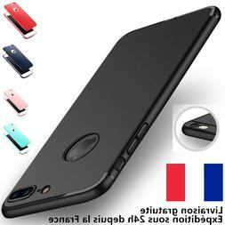 Antichoc amorti coque case protection mat iPhone 6s 7 8 Plus