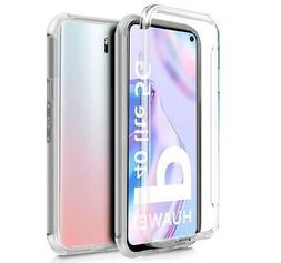 Coque Complet Transparent PC+TPU Full Corps 360 Pour Huawei