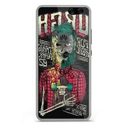 Coque en silicone pour Huawei P10 Lite - Skull Urgh