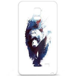 Coque Housse Etui Samsung Galaxy Note 4 à motif Silicone Ge