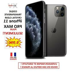 Coque Apple iPhone 11 Pro Max  Extra Fine Souple PROTECTION