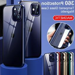 COQUE MAGNETIQUE POUR iPhone 12 Mini 12 Pro Max Transparent
