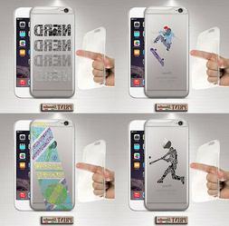 Coque Pour ,IPHONE,Transparent , Hobby, Skate, Silicone, Dou
