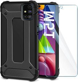 Coque Pour Samsung Galaxy M51 M31s M21 M11 Étui Armor +Verr