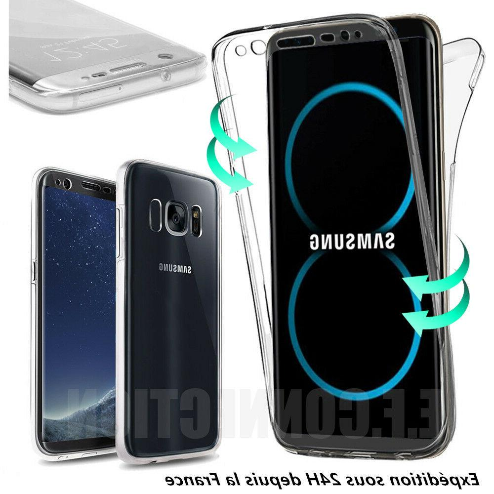 coque housse 360 full silicone pour samsung